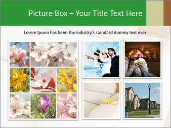 Cleaning the white couch PowerPoint Templates - Slide 19