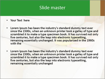 Cleaning the white couch PowerPoint Templates - Slide 2