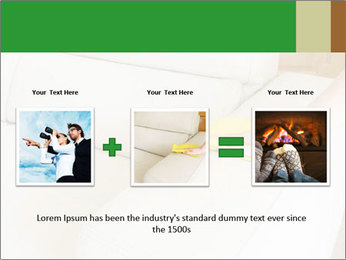 Cleaning the white couch PowerPoint Template - Slide 22