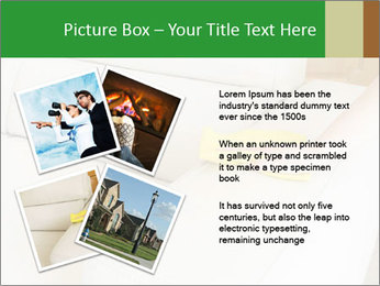 Cleaning the white couch PowerPoint Template - Slide 23