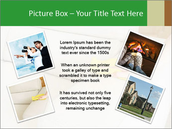 Cleaning the white couch PowerPoint Template - Slide 24