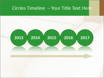Cleaning the white couch PowerPoint Template - Slide 29