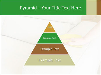 Cleaning the white couch PowerPoint Template - Slide 30