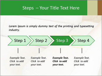 Cleaning the white couch PowerPoint Template - Slide 4