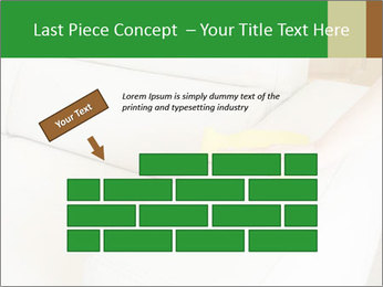 Cleaning the white couch PowerPoint Template - Slide 46