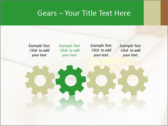 Cleaning the white couch PowerPoint Template - Slide 48
