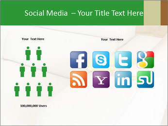 Cleaning the white couch PowerPoint Template - Slide 5