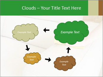 Cleaning the white couch PowerPoint Template - Slide 72
