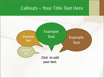 Cleaning the white couch PowerPoint Template - Slide 73