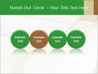 Cleaning the white couch PowerPoint Template - Slide 76