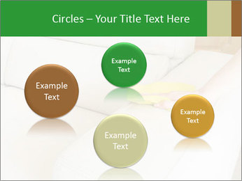 Cleaning the white couch PowerPoint Template - Slide 77