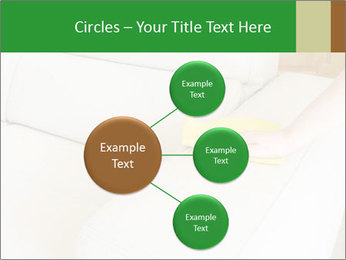 Cleaning the white couch PowerPoint Template - Slide 79