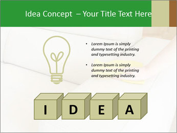 Cleaning the white couch PowerPoint Template - Slide 80