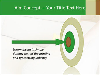 Cleaning the white couch PowerPoint Template - Slide 83