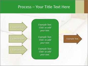Cleaning the white couch PowerPoint Template - Slide 85