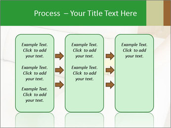 Cleaning the white couch PowerPoint Template - Slide 86