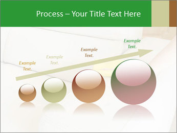 Cleaning the white couch PowerPoint Template - Slide 87