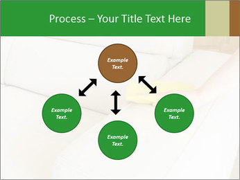 Cleaning the white couch PowerPoint Template - Slide 91