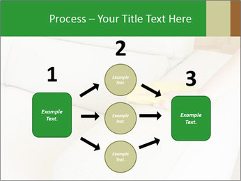 Cleaning the white couch PowerPoint Template - Slide 92
