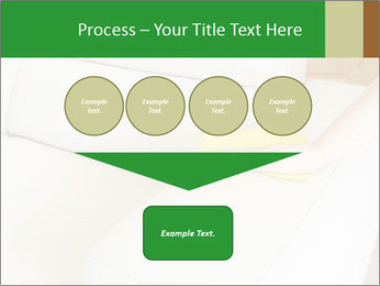Cleaning the white couch PowerPoint Template - Slide 93