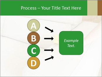 Cleaning the white couch PowerPoint Template - Slide 94