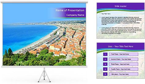 Promenade PowerPoint Template