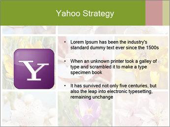 Beautiful flowers PowerPoint Template - Slide 11