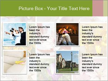 Beautiful flowers PowerPoint Template - Slide 14