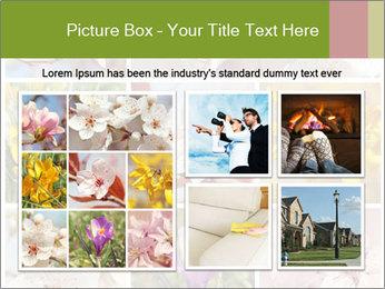 Beautiful flowers PowerPoint Template - Slide 19