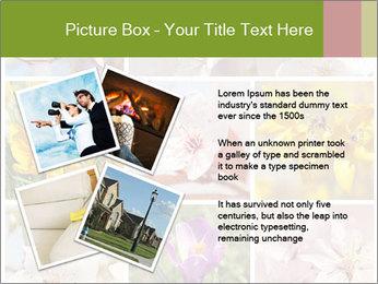 Beautiful flowers PowerPoint Template - Slide 23