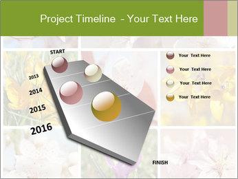 Beautiful flowers PowerPoint Template - Slide 26