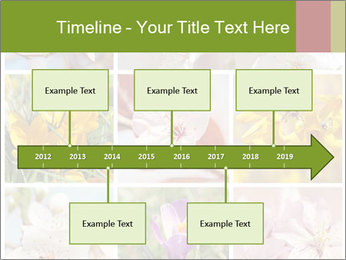 Beautiful flowers PowerPoint Template - Slide 28