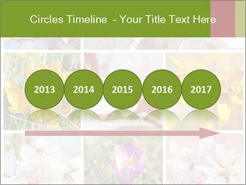 Beautiful flowers PowerPoint Template - Slide 29