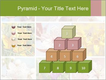 Beautiful flowers PowerPoint Template - Slide 31