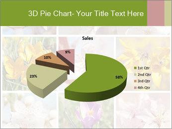 Beautiful flowers PowerPoint Template - Slide 35