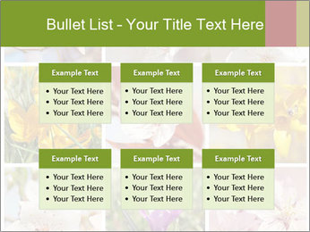 Beautiful flowers PowerPoint Template - Slide 56