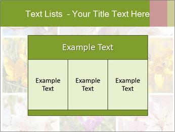 Beautiful flowers PowerPoint Template - Slide 59