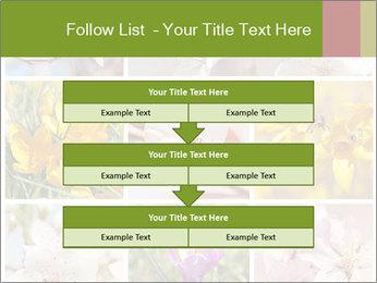 Beautiful flowers PowerPoint Template - Slide 60