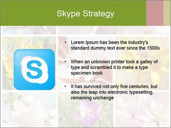 Beautiful flowers PowerPoint Template - Slide 8