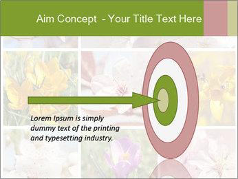 Beautiful flowers PowerPoint Template - Slide 83