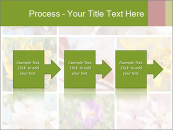 Beautiful flowers PowerPoint Template - Slide 88