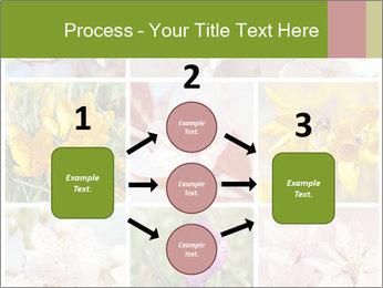 Beautiful flowers PowerPoint Template - Slide 92