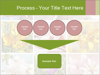 Beautiful flowers PowerPoint Template - Slide 93