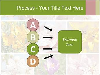 Beautiful flowers PowerPoint Template - Slide 94