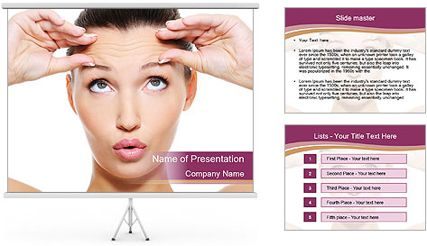 Folds PowerPoint Template