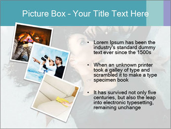 Attractive girl PowerPoint Template - Slide 17
