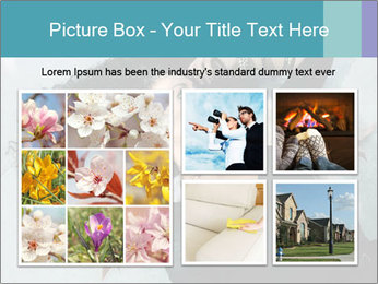 Attractive girl PowerPoint Template - Slide 19