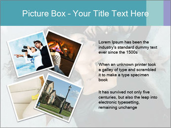 Attractive girl PowerPoint Template - Slide 23