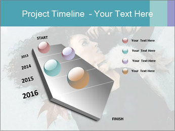 Attractive girl PowerPoint Templates - Slide 26