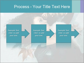 Attractive girl PowerPoint Template - Slide 88